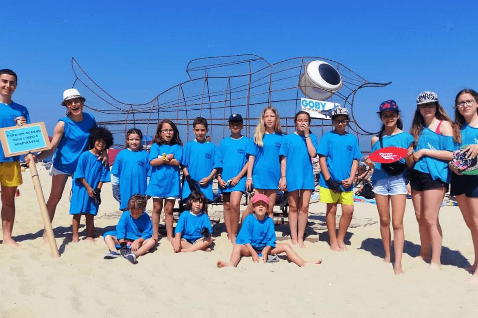 Parque Aquático de Amarante promoveu a limpeza das praias da Póvoa de Varzim e Espinho